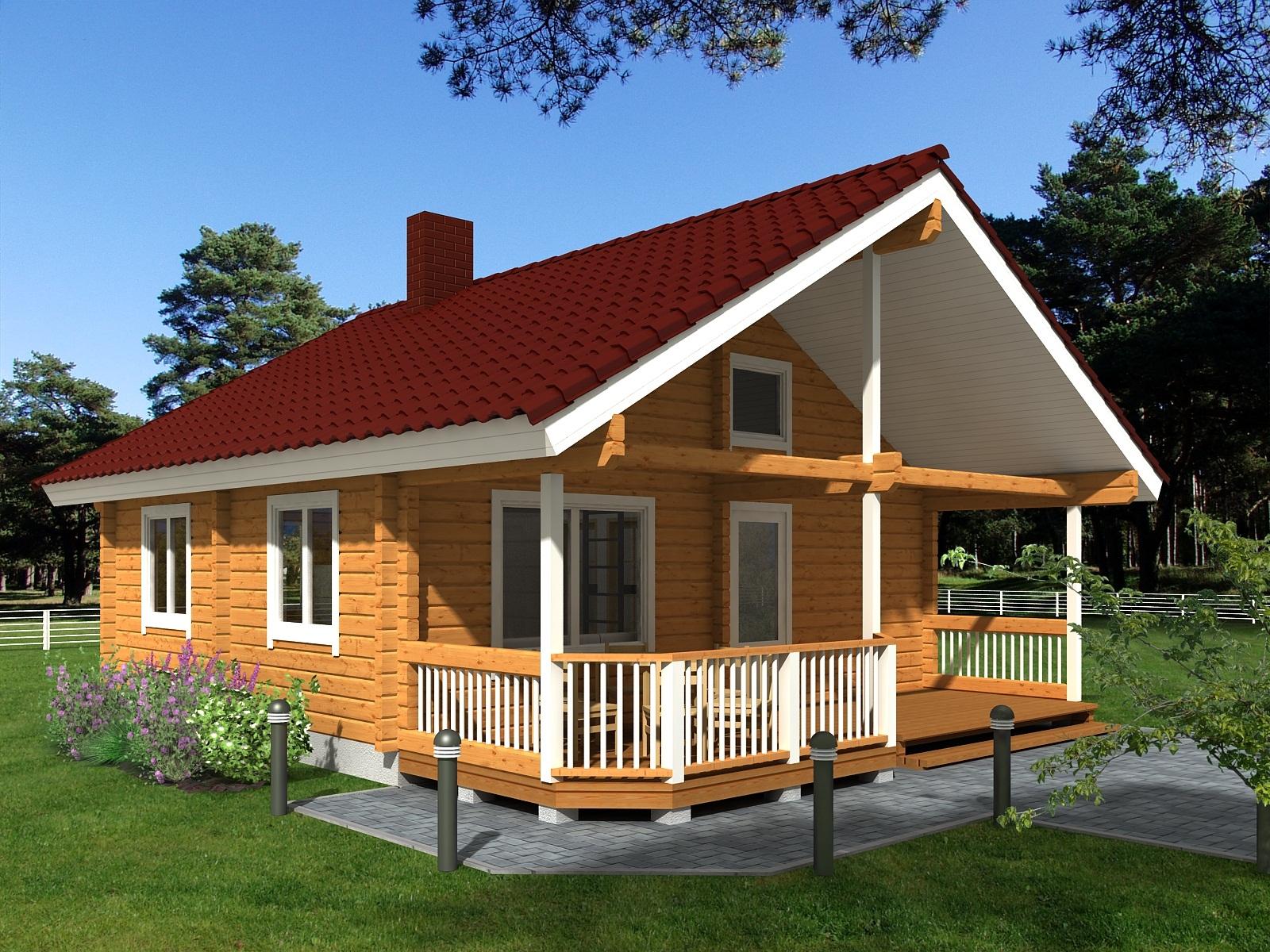 komfort wohnbau gmbh blockhaus massivhausbau blockhausbau. Black Bedroom Furniture Sets. Home Design Ideas